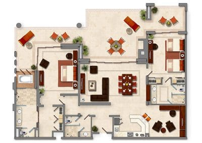 Two bedroom penthouse (4)